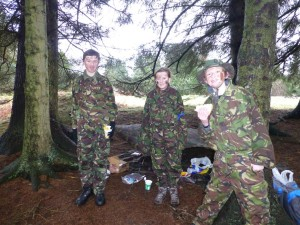 2014-03- Fieldcraft @ Barrwood